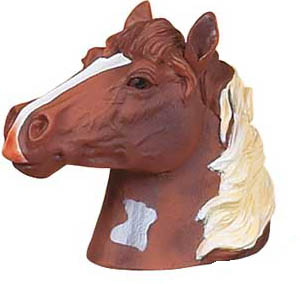 Painted Horse Trailer Hitch Cover