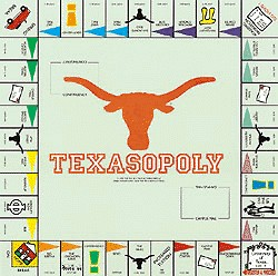 Texasopoly Board Game