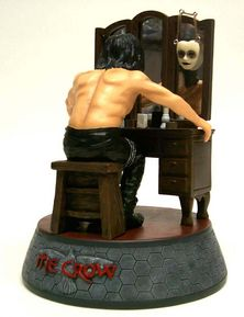 The Crow Transformation Diorama