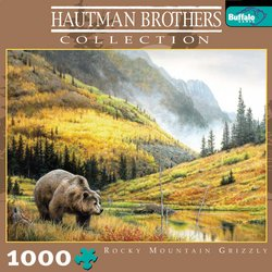 Rocky Mountain Grizzly, Hautman Brothers Collection 1000 Piece Jigsaw Puzzle