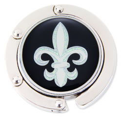 Finders Key Purse Fleur de Lis Hang 'Em High Purse Hanger