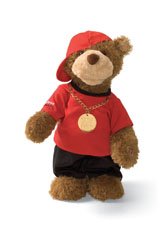"Gund 13"" Musical Birthday Hip Hop Randy"