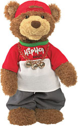 "Gund 14.5"" Musical Hip Hop Randy Holiday Edition"