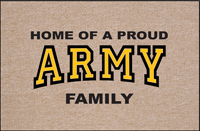 Proud ARMY Family Doormat