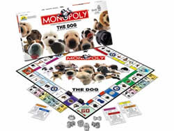 The Dog Edition Monopoly Game by USAopoly