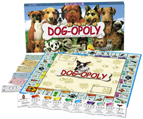 Dog-Opoly Dog Board Game