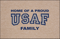 Proud USAF Family Doormat
