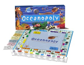 Oceanopoly Fishy Board Game