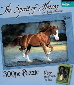 Fame The Spirit of Horses by Lesley Harrison 300 Piece Puzzle