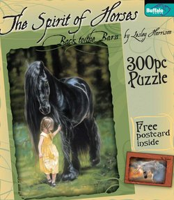 Back to the Barn The Spirit of Horses by Lesley Harrison 300 Piece Puzzle