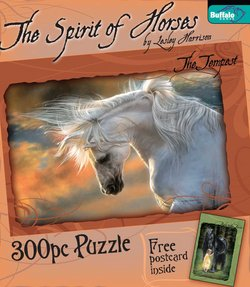 The Tempest The Spirit of Horses by Lesley Harrison 300 Piece Puzzle