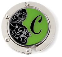 C Monogrammed Purse Hanger - Hang Em' High