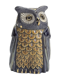 Blue Owl Artesania Rinconada Emerald Collection