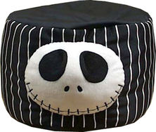"""The Nightmare Before Christmas Jack 6"""" Cylinder Plush"""