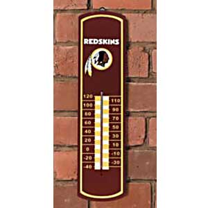 Washington Redskins NFL Large Wall Thermometer