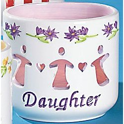 Waxcessories Floral Daughter Message Votive
