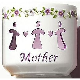 Waxcessories Floral Mother Message Votive