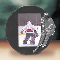 Hockey Player Photo Frame
