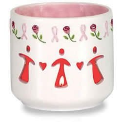 Waxcessories Breast Cancer Awareness Votive