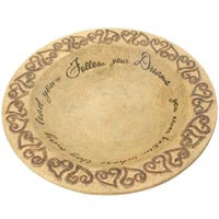 "Comfort Candles - Dreams 9.25"" Shallow Bowl"