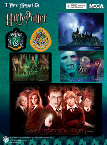 Harry Potter Magnet Sheet (7 Pieces)