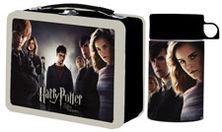 Harry Potter and the Order of the Phoenix Limited Lunchbox with Drink Container