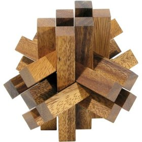 Family Games Wooden Lumberjack Puzzle