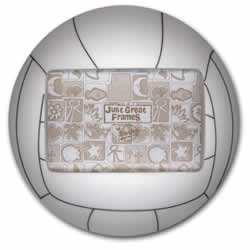 Volleyball 3-D Sports Photo Frame