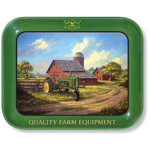 John Deere Metal Trays and Tins
