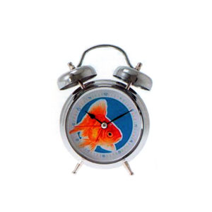 Present Time Fish Sound Alarm Clock