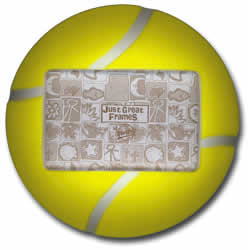 Tennis Ball Sports 3-D Photo Frame