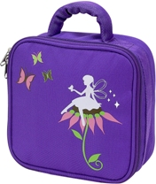 Purple Fairy Square Lunch Bag by Four Peas