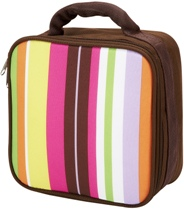 Spunky Stripe Square Lunch Bag by Four Peas