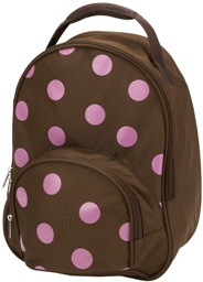 Pink Polka Dot Toddler Preschool Backpack by Four Peas