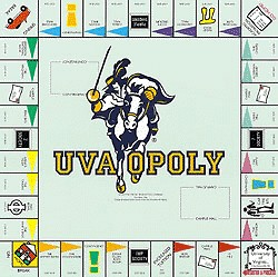 UVAOpoly Virginia Monopoly Style Board Game