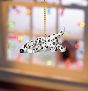 Delilah Dalmation Beasties Ornament