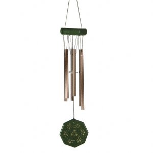 JW Stannard Floral Hand Tuned Wind Chime