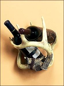 Deer Antler Wine Rack-Wall Mount