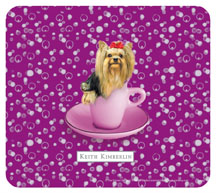 Keith Kimberlin Yorkie Puppy Mousepad