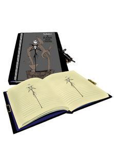 The Nightmare Before Christmas Diary with Lock