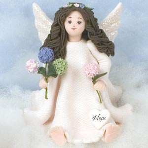 Hope Barefoot Angel by Kneeded Angels-Discontinued