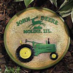 John Deere Model B Garden Stepping Stone