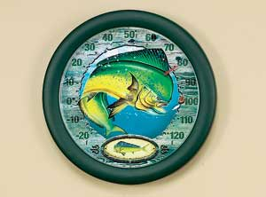 "12"" Mahi Mahi Thermometer John Wright"