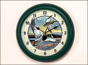 "10"" Duck Clock Bob Schmidt"
