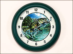 "10"" Bass Clock-Jon Q. Wright"