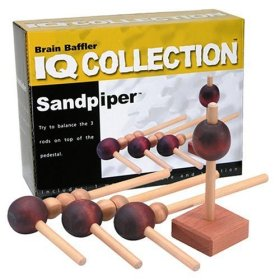 Family Games Wooden Sandpiper Puzzle