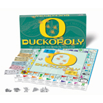 DUCKOPOLY University of Oregon Monopoly Style Board Game