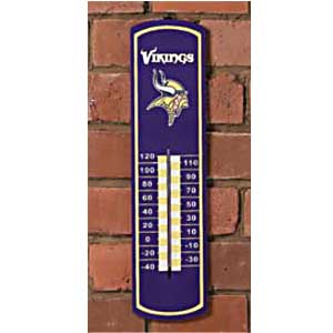 Minnesota Vikings NFL Large Wall Thermometer