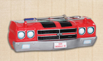 1970 Chevelle 3-D Front End Resin Wall Shelf