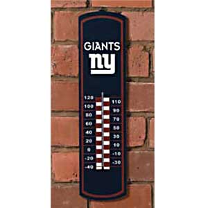 New York Giants NFL Large Wall Thermometer